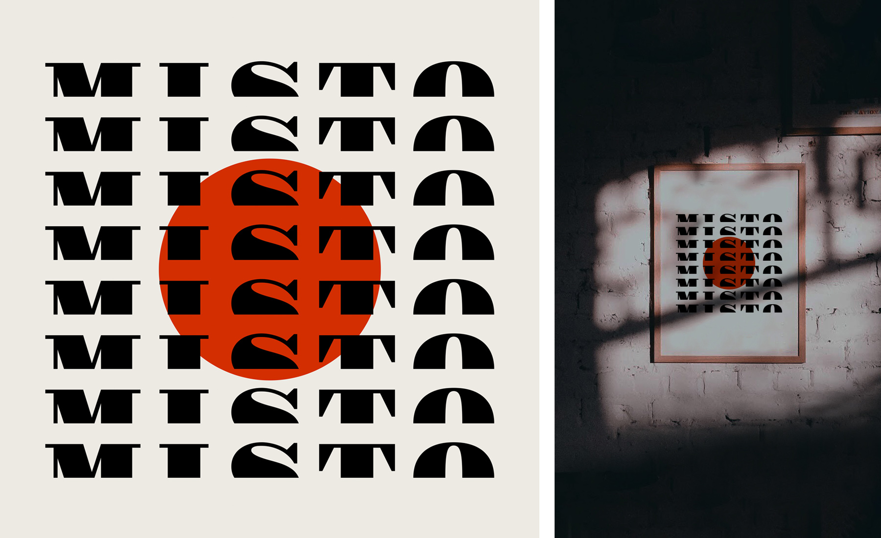 Supermundano Estudio. Diseño de branding Misto Bar.
